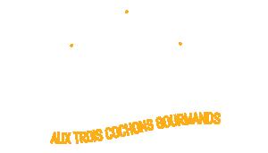 Aux trois cochons gourmands Logo
